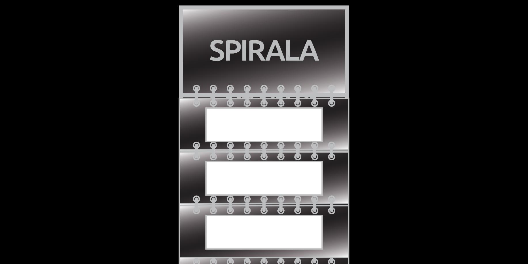 StudioKalendarzy.pl - kalendarze trójdzielne spiralowane