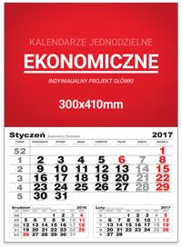 StudioKalendarzy.pl - kalendarze jednodzielne EKONOMICZNE
