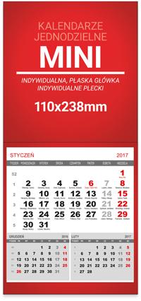 StudioKalendarzy.pl - kalendarze jednodzielne MINI