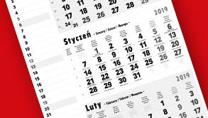 Produkcja kalendarzy trójdzielnych
