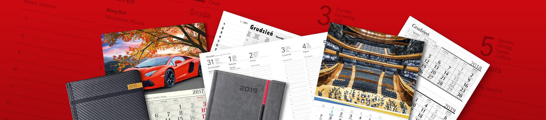 Druk kalendarzy reklamowych | Kalendarze z nadrukiem