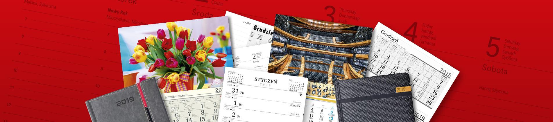 Kalendarze i notesy reklamowe dla firm
