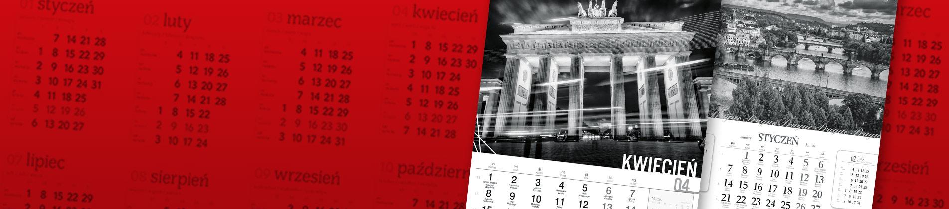 Ścienne kalendarze wieloplanszowe