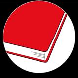 Zaokrąglone rogi opraw kalendarzy książkowych