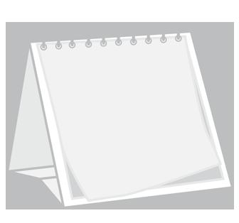 Kalendarze biurkowe wieloplanszowe z indywidualnym zadrukiem