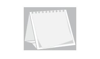 Kalendarze biurkowe z indywidualnym zadrukiem