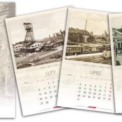 Indywidualne kalendarze wieloplanszowe ścienne