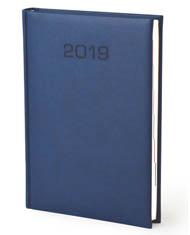 Kalendarz książkowe Blue