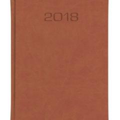 Kalendarz książkowe Classic - brązowy