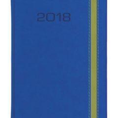 Kalendarz książkowy Bi Color - nadir ultramaryna + vivela jasnozielona