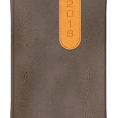 Kalendarz książkowy Bi Color - pony brązowy + vivela miodowa