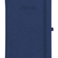 Kalendarz książkowy Classic z gumką - granatowy