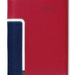 Kalendarz książkowy Combo Corner czerwony