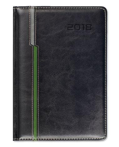 Kalendarz książkowy Combo Double czarny
