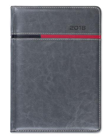 Kalendarz książkowy Combo Horizontal szary