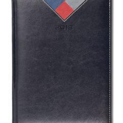 Kalendarz książkowy Combo Triangle czarny