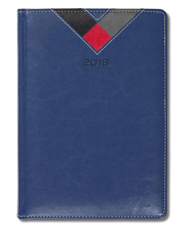 Kalendarz książkowy Combo Triangle granatowy