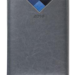 Kalendarz książkowy Combo Triangle szary