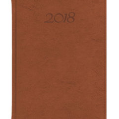 Kalendarz książkowy Elegant - jasny brąz