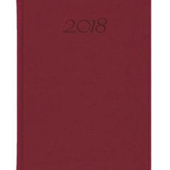 Kalendarz książkowy Elegant - bordowy