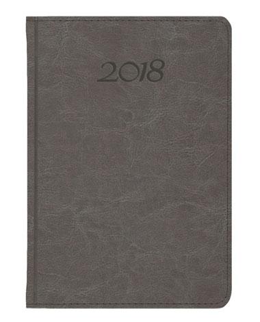 Kalendarz książkowy Elegant - szary