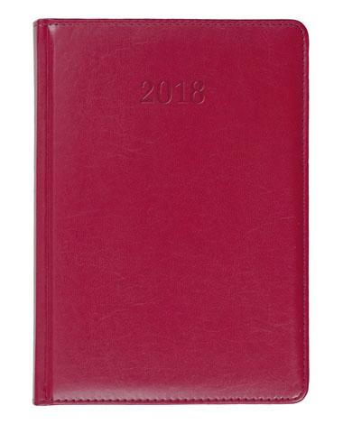 Kalendarz książkowy Elit czerwony