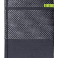 Kalendarz książkowy Karbon grafit / czarny / oliwkowy