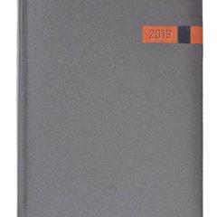 Kalendarz książkowy Magic grafitowy / pomarańczowy