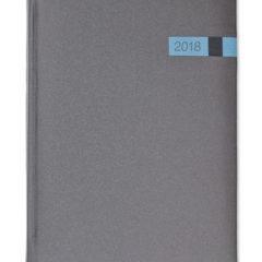 Kalendarz książkowy Magic grafitowy/niebieski