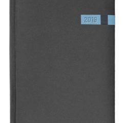 Kalendarz książkowy Magic czarny / niebieski