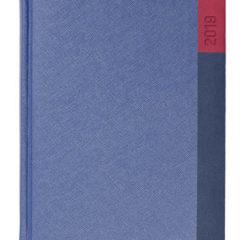 Kalendarz książkowy Moon granatowy / granatowy / czerwony