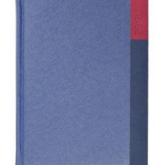 Kalendarz książkowy Moon granat/granat/czerwień