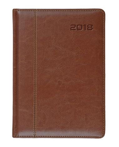Kalendarz książkowy Nero brązowy