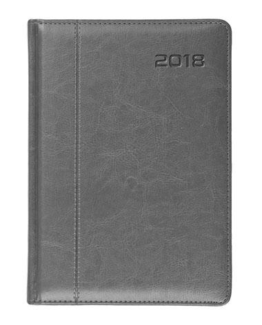 Kalendarz książkowy Nero szary