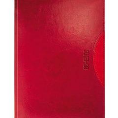 Kalendarz książkowy bordowo-czerwony