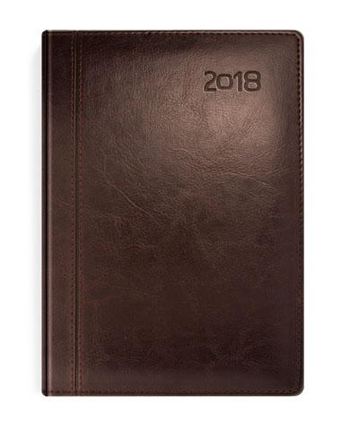 Kalendarz książkowy brązowy