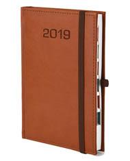 Kalendarz książkowy z gumką Classic