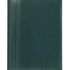 Kalendarz książkowy ze Skóry Naturalnej - zielony