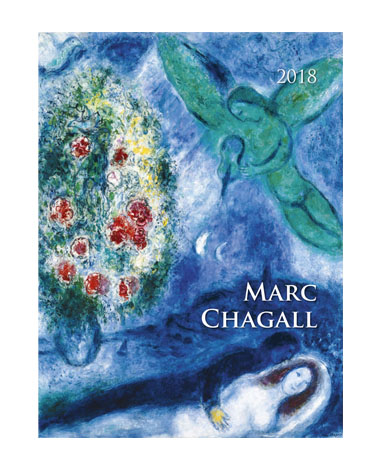 Kalendarz wieloplansozwy Marc Chagall