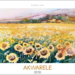 Kalendarz wieloplanszowy Akwarele - okładka