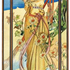 Kalendarz wieloplanszowy Alfons Mucha