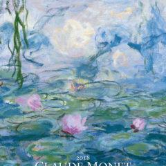 Kalendarz wieloplanszowy Claude Monet - okładka