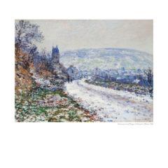Kalendarz wieloplanszowy Claude Monet - przykłądowa strona