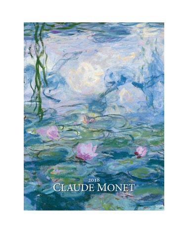 Kalendarz wieloplanszowy Claude Monet
