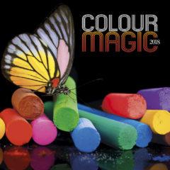 Kalendarz wieloplanszowy Colour magic - okładka
