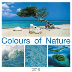 Kalendarz wieloplanszowy Colours of Nature - okładka