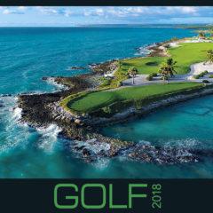 Kalendarz wieloplanszowy Golf - okładka