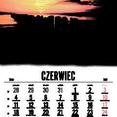 Kalendarz wieloplanszowy Magiczna Polska - przykładowa strona