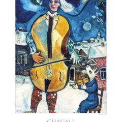 Kalendarz wieloplanszowy Marc Chagall - przykładowa strona