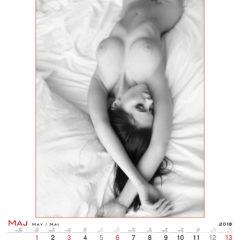 Kalendarz wieloplanszowy Passion - przykładowa strona